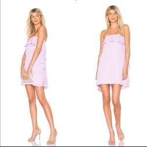•Amanda Uprichard• Tally Ruffle Dress